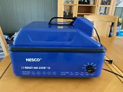 Nesco Roast-air Oven 12 Complete Roaster Oven Tested With Fan, Rack And Booklet