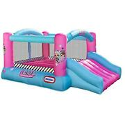 L.o.l. Surprise Jump And039n Slide Inflatable Bounce House With Blower