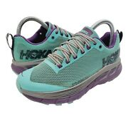 Hoka One One Challenger Atr 4 Womenand039s 5 Trail Running Shoes Pool Blue 1018295