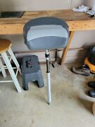 New Swivel Eze 24-30 Inch Adjustable Power Pedestal And Tempress Guide Seat