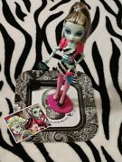 2011 Monster High Dawn Of The Dance Frankie Stein Doll And Accessories