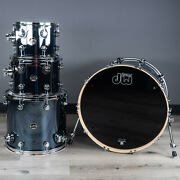 Dw Performance Series 4-piece 22/10/12/16 Drum Kit Shell Pack Chrome Shadow
