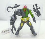 Motu Trap Jaw Green 200x Complete Figure He-man Masters Of The Universe
