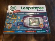 Leap Frog Leapster Gs Explorer Ultimate Learning Game System W/camera. New