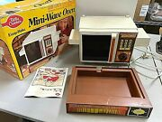 Vintage Betty Crocker Kenner Easy Bake Mini-wave Oven W/ Box And Cook Book