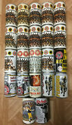 22 Rare Collectible Beer Cans - Pittsburgh Steelers, Pirates, And Penguins See Pic