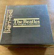 Beatles Cd Singles Collection Box Japanese Edition 22cd With Page Booklet