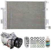 For Chevy Ssr 2003 2004 2005 2006 A/c Kit W/ Ac Compressor Condenser And Drier Gap