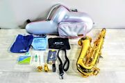 Yamaha Alto Saxophone Yas-82z For Music Customz With Case And Accessories Used