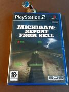 Michigan Report From Hell Sony Playstation 2 Ps2 Pal Fr Blister Neuf 505 Games