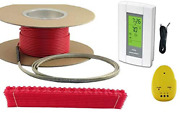 300 Sqft Cable Set 240 Volt Electric Radiant Floor Heat Heating System With Au