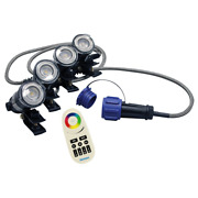 Airmax Color-changing Rgbw 4 Led Light Sets For Ecoseries And Pondseries Fountains