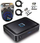 Alpine Pdx-v9 Car Pdx 5 Channel Class D Speaker Sub Amplifier And 4ga Amp Kit New