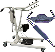 Tuffcare Stand Up Electric Patient Lift - Sit To Stand Standing Lift Rhino Lif