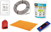 Schluter Ditra Signature Floor Heating Kit -167 Square Feet- Includes Touchscree