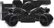 Rockford Fosgate Rzr-stage4 600 Watt Stereo Front And Rear Speaker And Subwoof