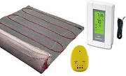 300 Sqft Mat 240 Volt Electric Radiant Floor Heat Heating System With Aube Dig