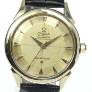 Wrist Watch Omega Constellation 2852-3 Sc Men's Analog Automatic Winding Used