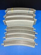 Bachmann Ho Scale Ez Track Lot Of 29 Tracks 18 Curved Gray