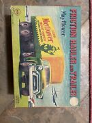Mayflower Friction Hauler And Trainer Vintage Toy