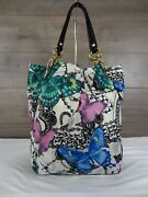 Coach 13415 Limited Edition Carly Butterfly Slouch Shoulder Bag Tote Handbag
