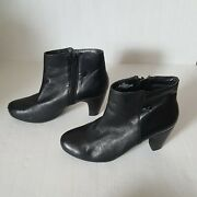 Easy Spirit Anti Gravity Boots Zippered Ankle Us 7 Black Women's Fashion Shoes
