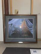 Mort Kunstler - Loneliness Of Command - Collectible Civil War Print - With Frame