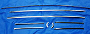 1965-1966 Oem Mustang Rear Coupe Window Trim Parts Lot - All Used Oem Pieces