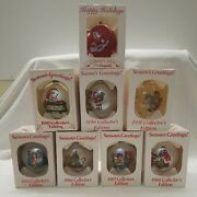 Lot Of 8 Vintage Campbell Soup Kids Christmas Ornaments 84-86-87-88-89-90-91-96