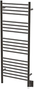 Jeeves D Straight Heated Towel Warmer Rack For Bathroom - Oil Rubbed Bronze 240