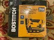 Brand New Bostitch Btfp71917 Smart Point 16 Ga Finish Nailer With Case Sealed