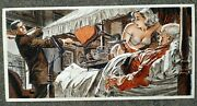 Menand039s Adventure Magazine Art Gil Cohen - Two Dolls Before I Die Pulp Sleaze Sexy