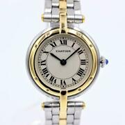 Panthandegravere Vendome 1 Low Round Yellow Gold Stainless Wristwatch [u0905]