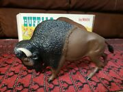 1960s Marx Buffalo W/ Box From The Johnny West Series Made In Glen Dale Wv 2033