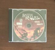 Battle Realms Vintage Pc Cd-rom Game, 2001
