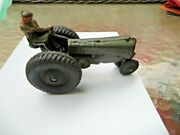 Barclay Manoil And Auburn- Auburn Rubber Co. Am103 Tractor In Olive Green