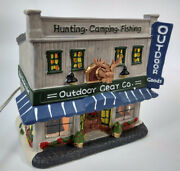 Porcelain Lighted Holiday Time Outdoor Gear Co Country Charm Collection 2017