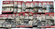 Vintage Yank Magazine The Army Weekly Wwii British Edition Lot Of 23