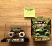 2021 Toy Fair Exclusive Spin Master Monster Jam Grave Digger Truck 1/1000 Rare