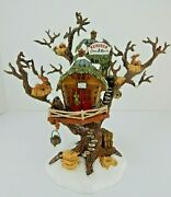 Dept 56 North Pole Woods Reindeer Care And Repair 56882 Good Condition W/box