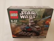 Lego Star Wars Microfighters Series 1 75028 Clone Turbo Tank And Clone Trooper New