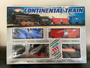 Continental Train Vintage Battery Powered Toy Set No. 1979 Midnight Express Amc