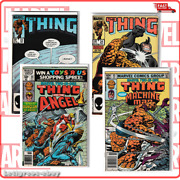 The Thing Lot Volume 1 22-24 Marvel Comic Set Two In One 93-68 -fast Ship