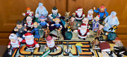 Rudolph The Red Nosed Reindeer - Lot Of Figurines And Ornaments - Playing Mantis