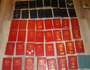 49 Red Book And Blue Handbook Of Us Coins Coin Price Guides 1960s-1990s