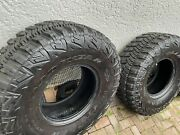 4 Goodyear Wrangler Mt/r With Kevlar - Lt38x14.50r17 Only 3000 Miles