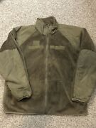 Army / Af Cold Weather Fleece Jacket Xlarge Long Ocp Military Issue Euc Xl Long