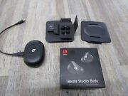 Beats By Dr. Dre Studio Buds Wireless Earbuds - Black Andlrmmj4x3ll/a Free Shipping