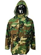 Vtg Us Army Nato Field Camouflage Military Coat Size Small Regular