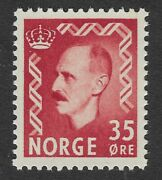 Norway Norge 35 Ore 1950 Mnh Stamp